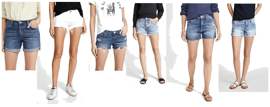 ShopBop Denim Shorts