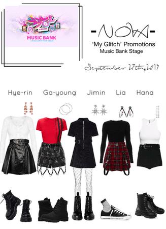 -NOVA- 'My Glitch' Music Bank Stage