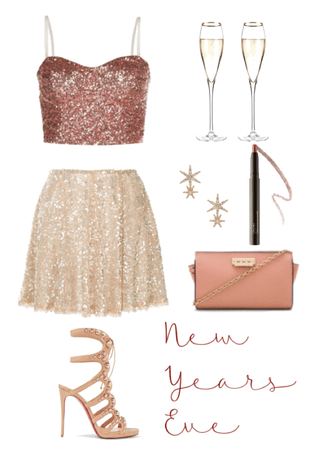 Rose Gold New Years Eve