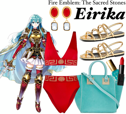 FIRE EMBLEM: The Sacred Stones (Eirika's Swimsuit Style)