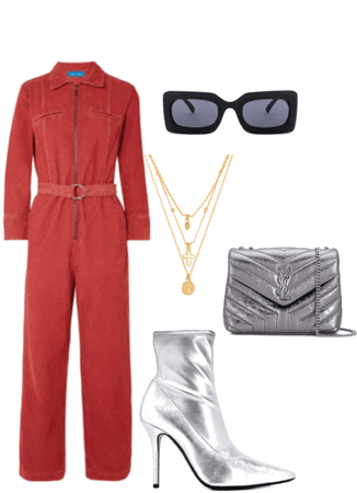 boiler suit luxe