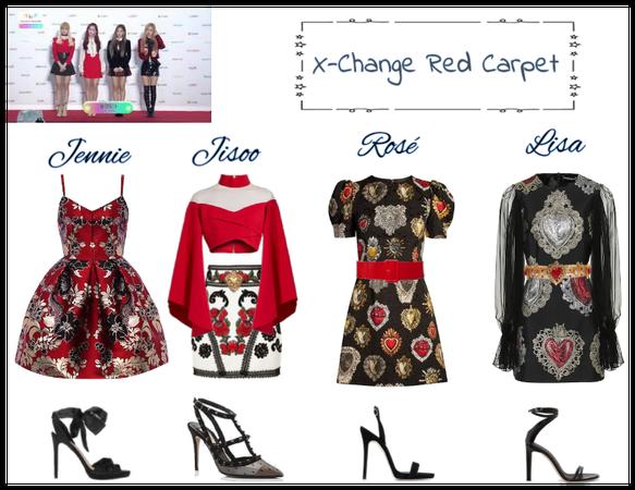 X-Change red carpet