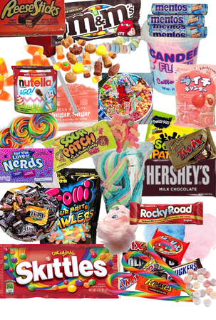 CANDY, CANDY, CANDY!!!!