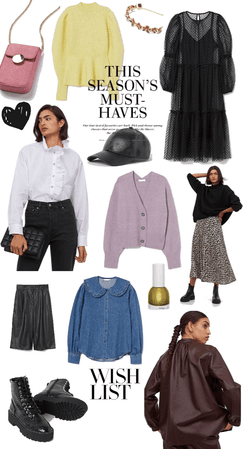 Fall wish list H&M