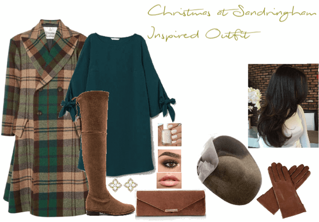 Christmas at Sandringham Inspired Outfit