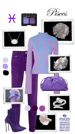 Pisces in Purple - Too Much Fun With Fish