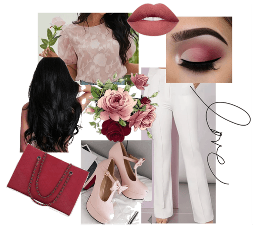 Sweet Valentine's Day Outfit