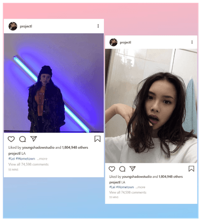 STYLE [Lei] Instagram Update