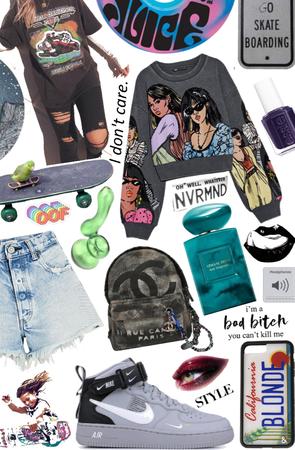 skateboard 🛹 girl gang xox