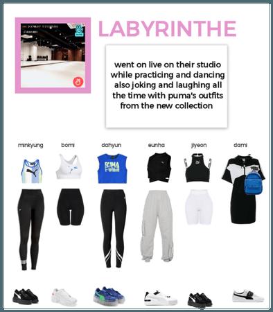 Labyrinthe dance studio live