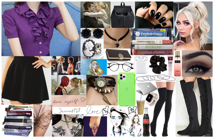 Gwen Stacy Inspired Outfit