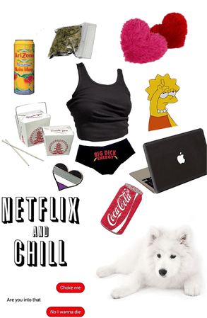 Netflix and chill w/ Mariah