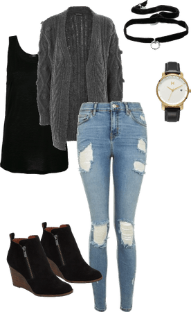 Winter School Outfit