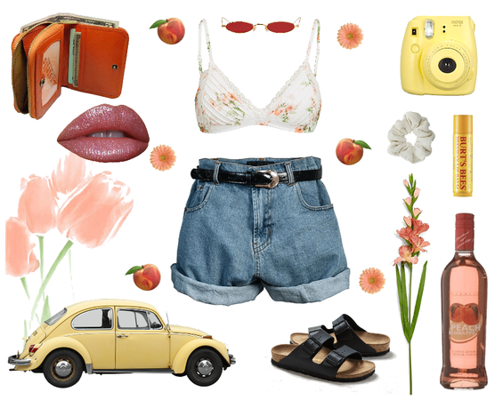 Peaches and spring