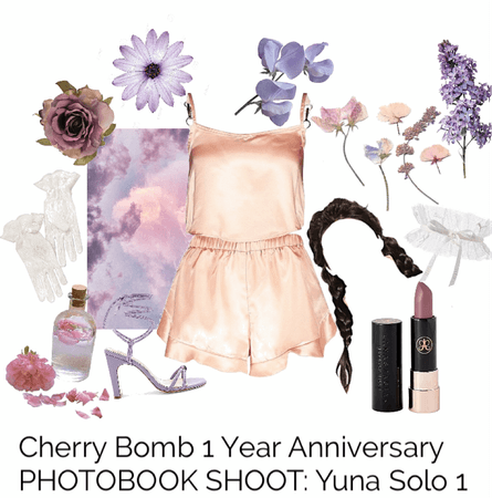 Cherry Bomb 1 Year Anniversary PHOTOBOOK SHOOT: Yuna Solo 1