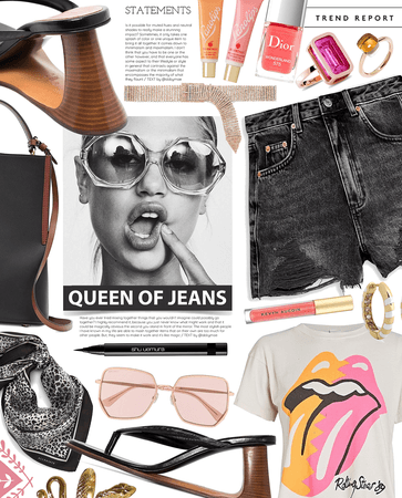 queen of jeans | denim shorts style