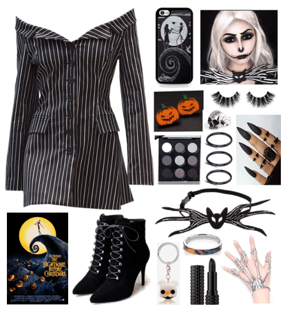 Jack Skellington Inspired Costume
