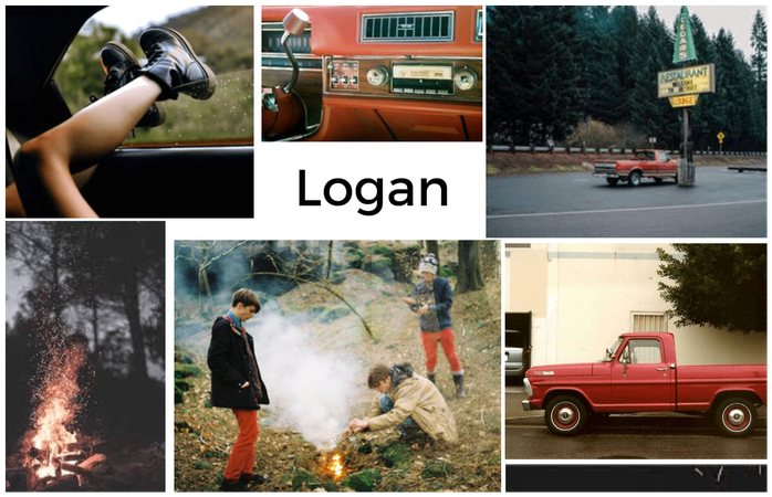 Name aesthetic Board- Logan
