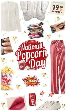 NATIONAL POPCORN DAY STYLE
