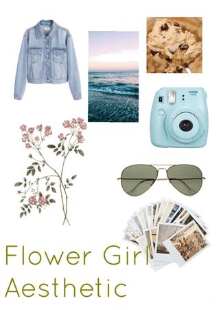 Flower Girl Aesthetic