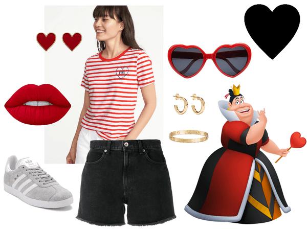 Queen of Hearts Disneybound