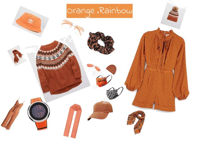 Orange Rainbow