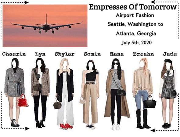 EOT(내일의 황후) | Airport Fashion: Seattle to Atlanta