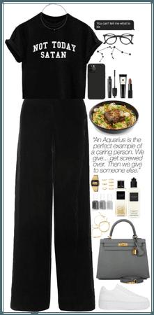 Aquarius. My Style. Black.