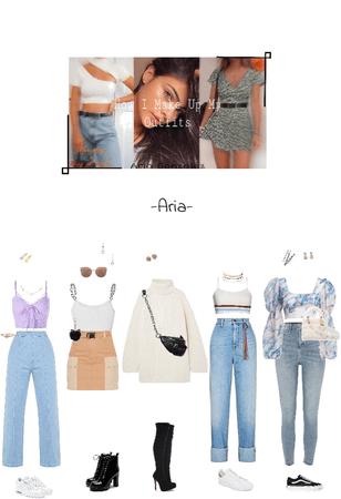 """How I Make My Outfits Up""  Aria YouTube"