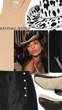 🖤🤍Kendall Jenner Cowgirl 🤍🖤