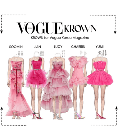 KROWN for Vogue Korea Magazine