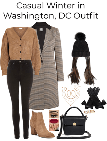 Casual Winter in Washington, DC Outfit