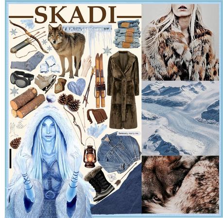 NORSE MYTHOLOGY: Skadi