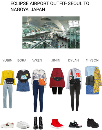 ECLIPSE AIRPORT OUTFIT- SEOUL TO NAGOYA, JAPAN