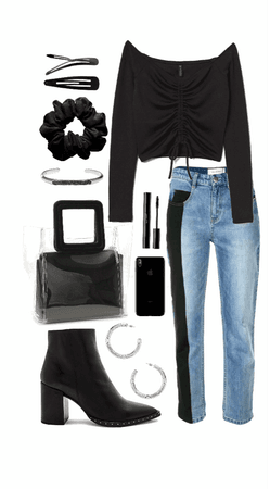 go to jeans + boots