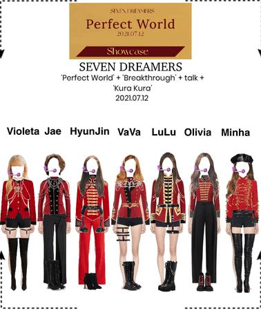 Seven Dreamers - Perfect World Showcase/Album release event