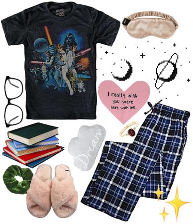 stolen pajamas are my favorite pajamas