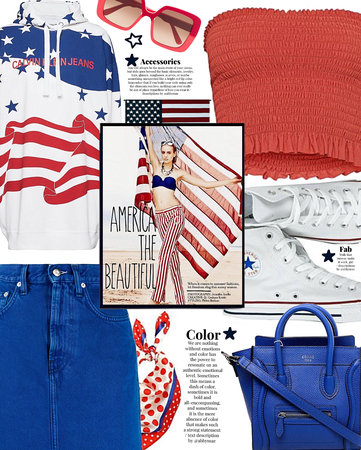 oh beautiful | red white and blue
