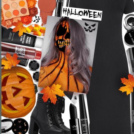 Spooky costume