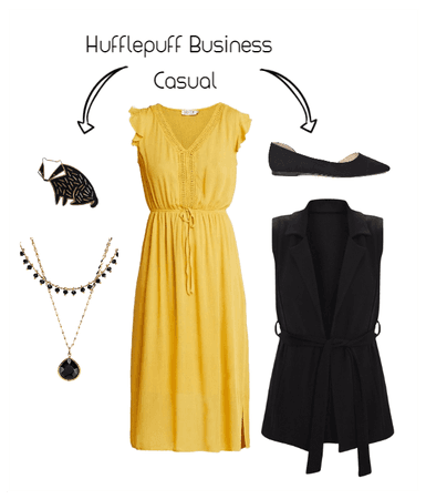 Hufflepuff Business Casual