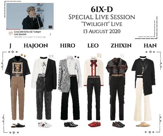 6IX-D [씩스띠] 'Twilight' Special Live Session 200813