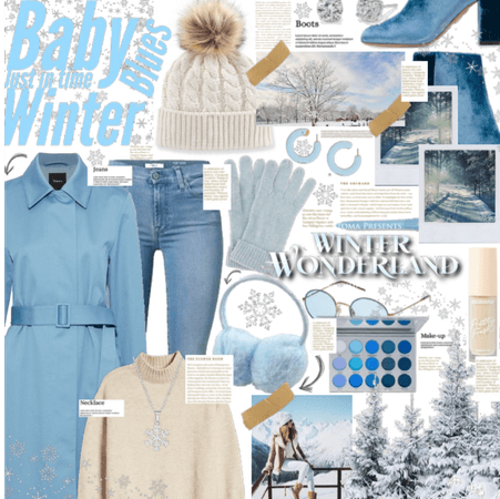 Baby blue winter feels