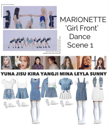 {MARIONETTE} 'Girl Front' M/V Dance Scene 1