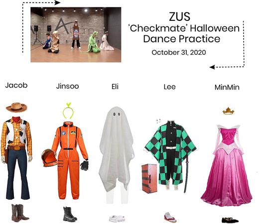 Zus// 'Checkmate' Halloween Special Dance Practice