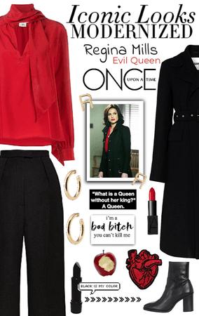 Iconic Looks | Regina Mills/Evil Queen (OUAT)