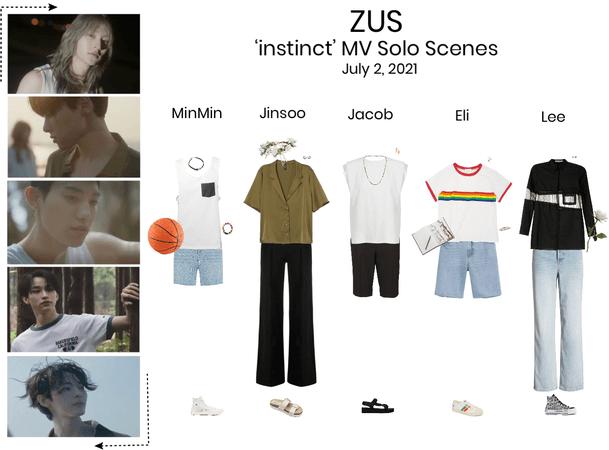ZUS//'instinct' MV Solo Scenes