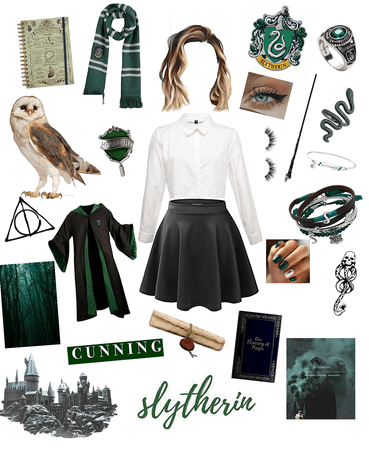 Me in Slytherin