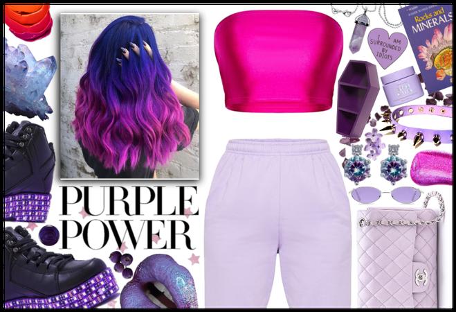 Purple Power: Space Girl