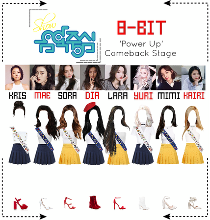 ⟪8-BIT⟫ 'Power Up' Comeback Stage #6 - Music Core