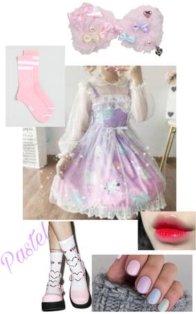 Pastel mall Lolita